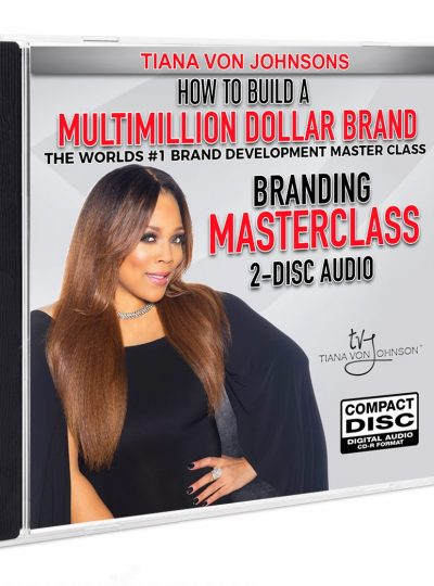 Million Dollar Brand Masterclass 2-Disc Audio CD