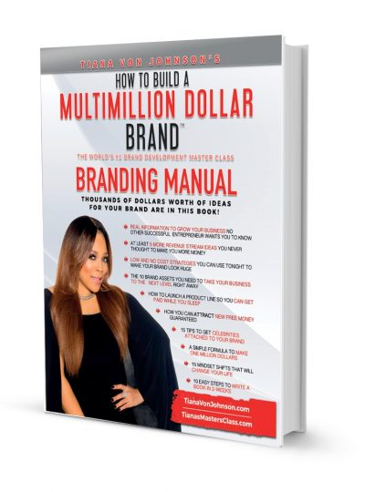 Million Dollar Brand Masterclass Full-Color Manual