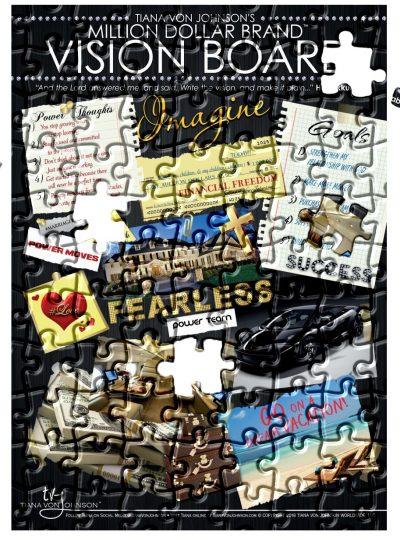 Vision Board Puzzle
