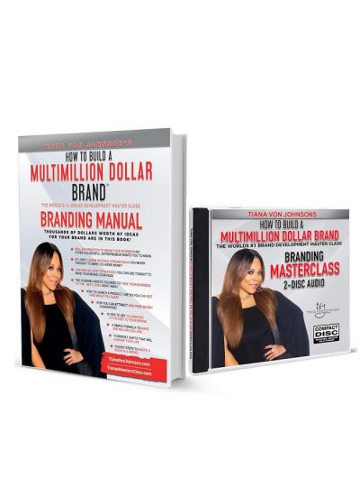 Million Dollar Brand Masterclass Full-Color Manual & Audio CD