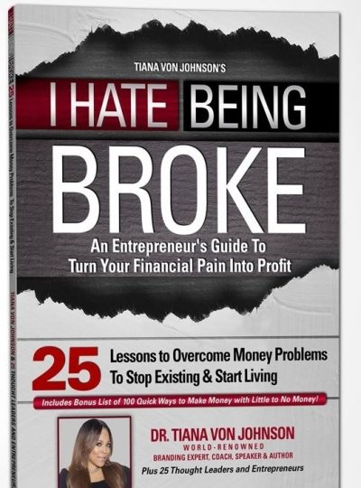 """I HATE BEING BROKE"" 25-Lesson Home Study Course  (Manual & 2 Disc Audio CD)"